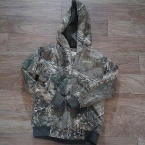 Magellan camo insulated boys jacket